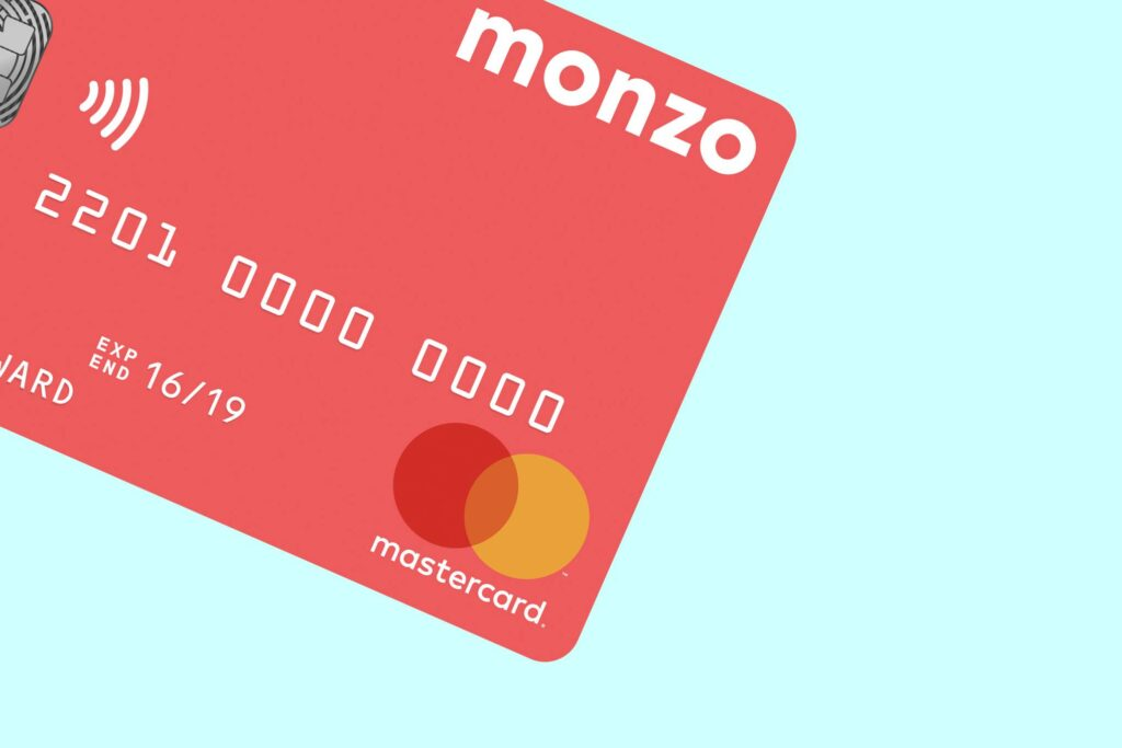 Monzo Online Business Bank Account Logo