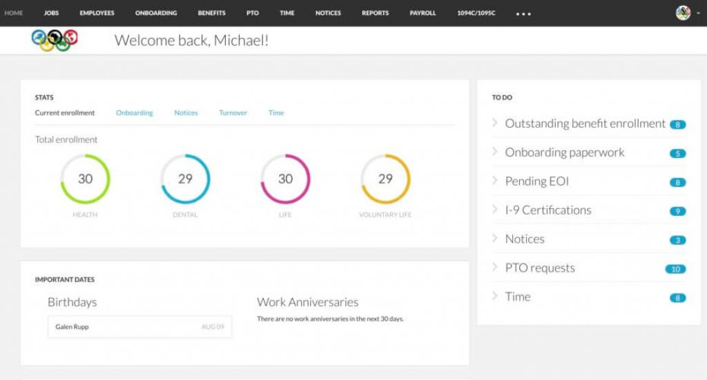 bernie portal software for hr management