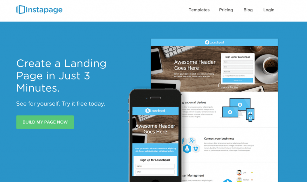 landing pages design guide