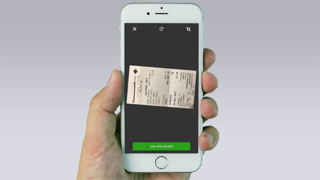 Quickbooks receipt scanning