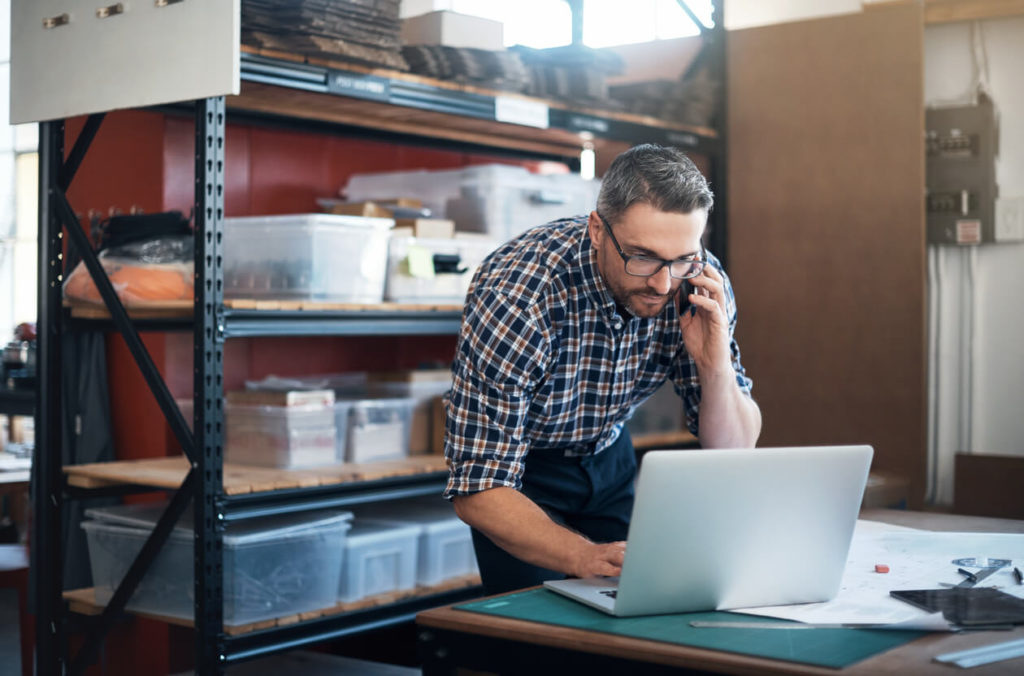 setting up a business technology