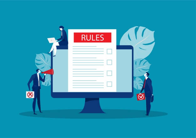 setting up a business rules